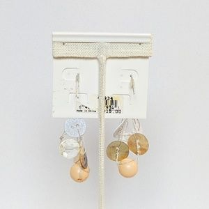 Erica Lyons Jewelry - 💢3 for $25💢 Erica Lyons Button Dangle Earrings